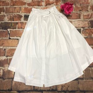 c92e2bc0d1 Free People Skirts - Free People Dream Of Me Midi Skirt NWT IVORY